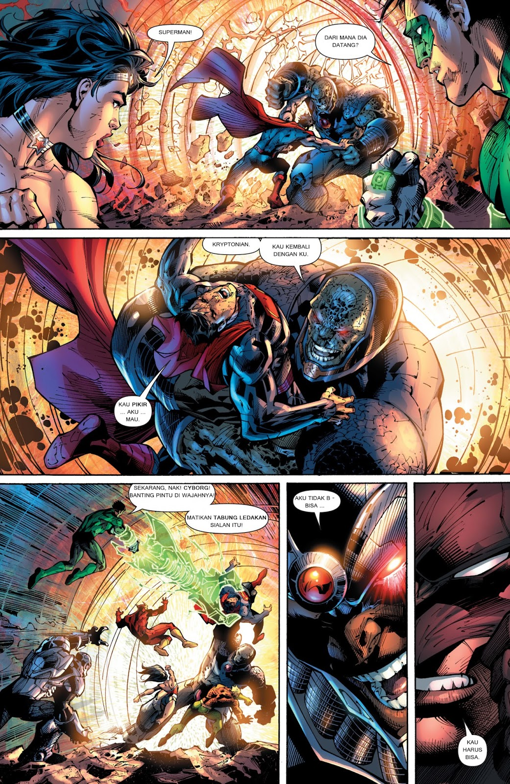 komik amerika bahasa indonesia justice league 6