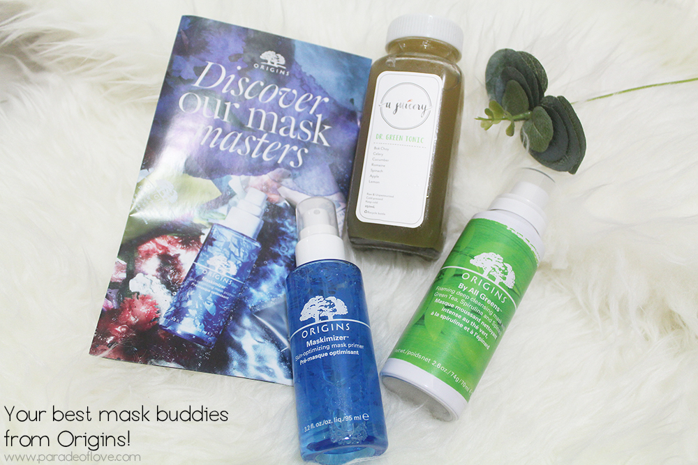 Origins mask duo - Maskimizer™ & By All Greens™