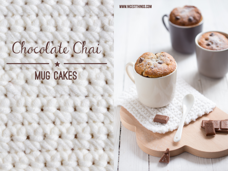 Tassenkuchen Rezept Schoko und Chai Mug Cakes