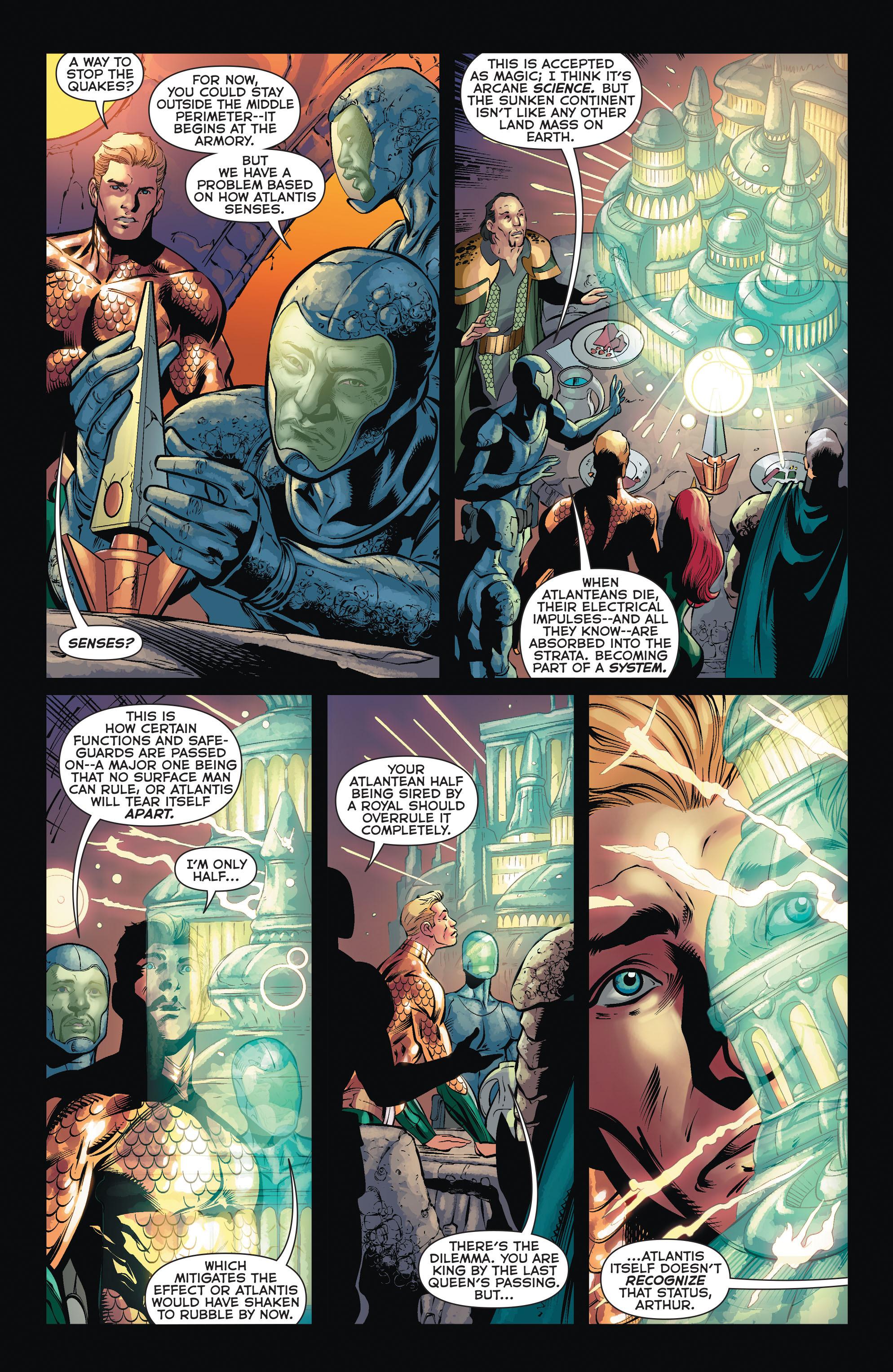 Read online Aquaman (2011) comic -  Issue #35 - 18