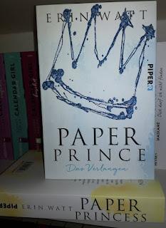 """Rezension """"Paper Prince"""" von Erin Watt"""