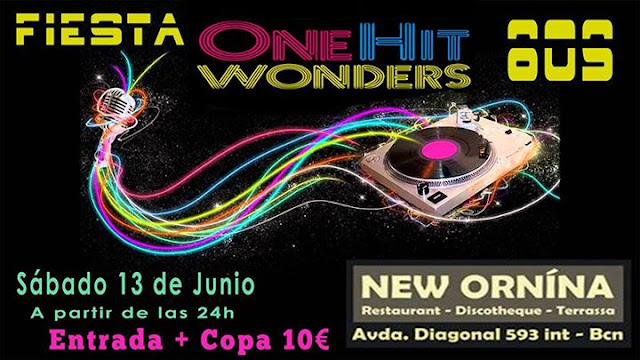 Flyer Fiesta One Hit Wonder 80s