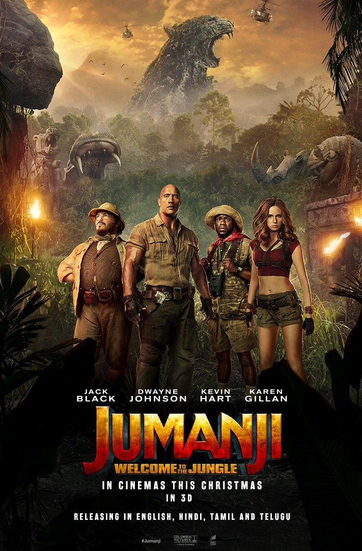 Jumanji: Welcome to the Jungle (2017) ταινιες online seires xrysoi greek subs