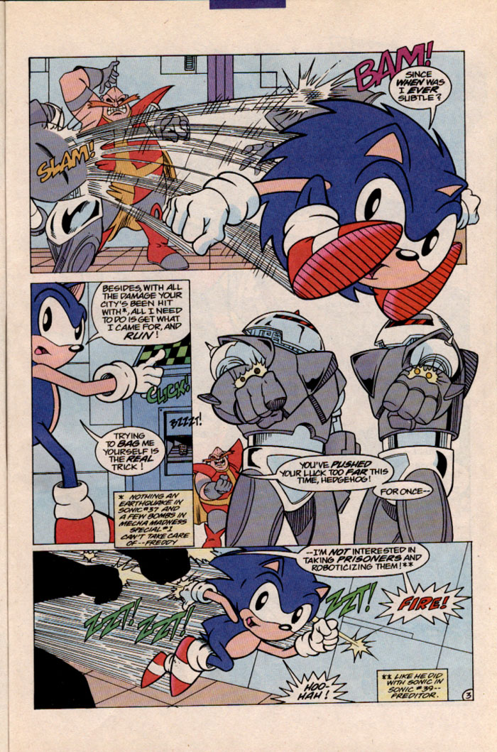 Read online Sonic The Hedgehog comic -  Issue #41 - 4