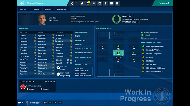 FM18 Fantasy Draft player profile screen