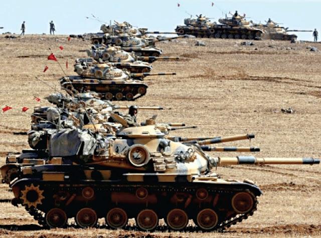 سقوط عشرات القتلى السوريين في قصف صاروخي ومدفعي لطائرات ودبابات تركية شمال سوريا