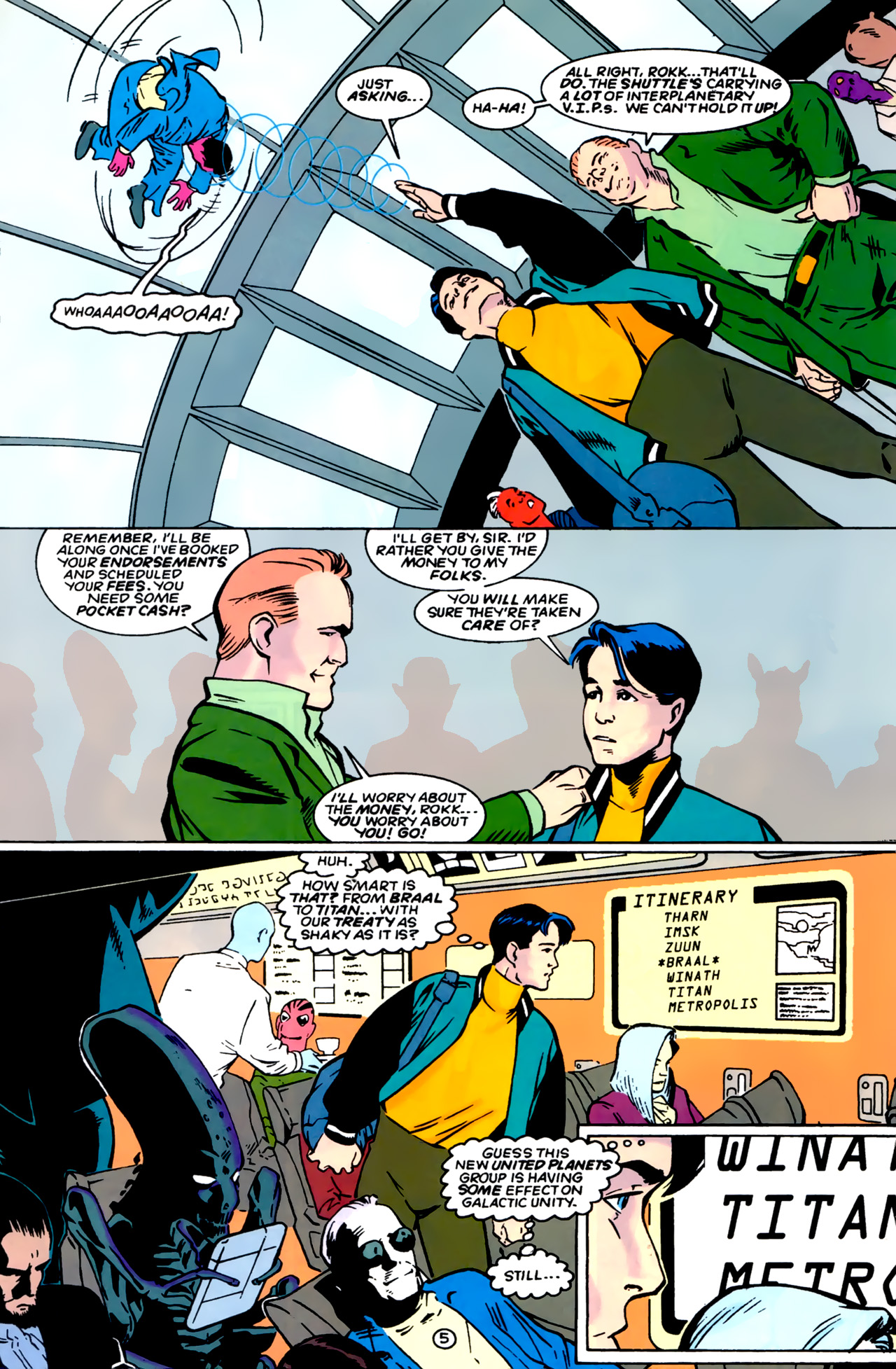 Legion of Super-Heroes (1989) 0 Page 5
