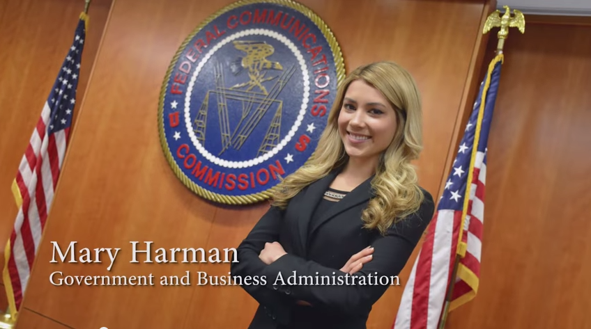 FCC Intern Mary Harman, who is deaf, shares her experience.