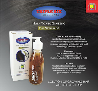 Triple Six Hair Tonic Ginseng