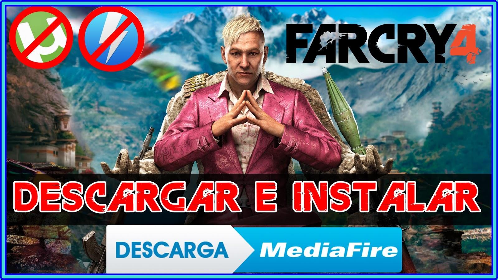 descargar far cry 4 mega pc español