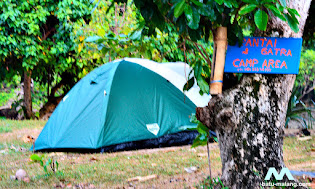 camping di pantai gatra sendangbiru