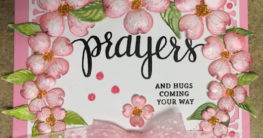 Dogwood Flowers Prayer Card