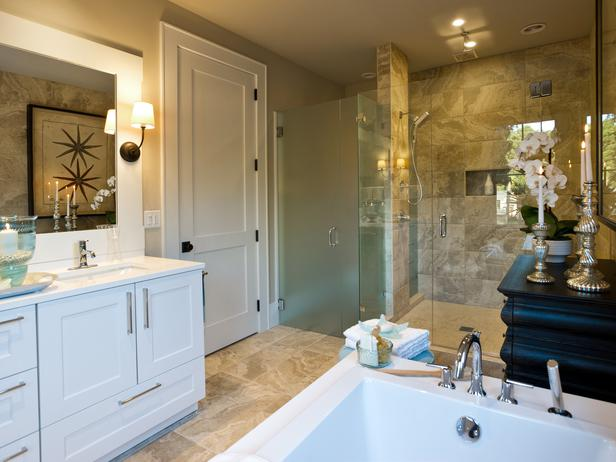 Tropical Bathroom Decor Pictures Ideas Tips From Hgtv: Master Bathroom Pictures : HGTV Dream Home 2013