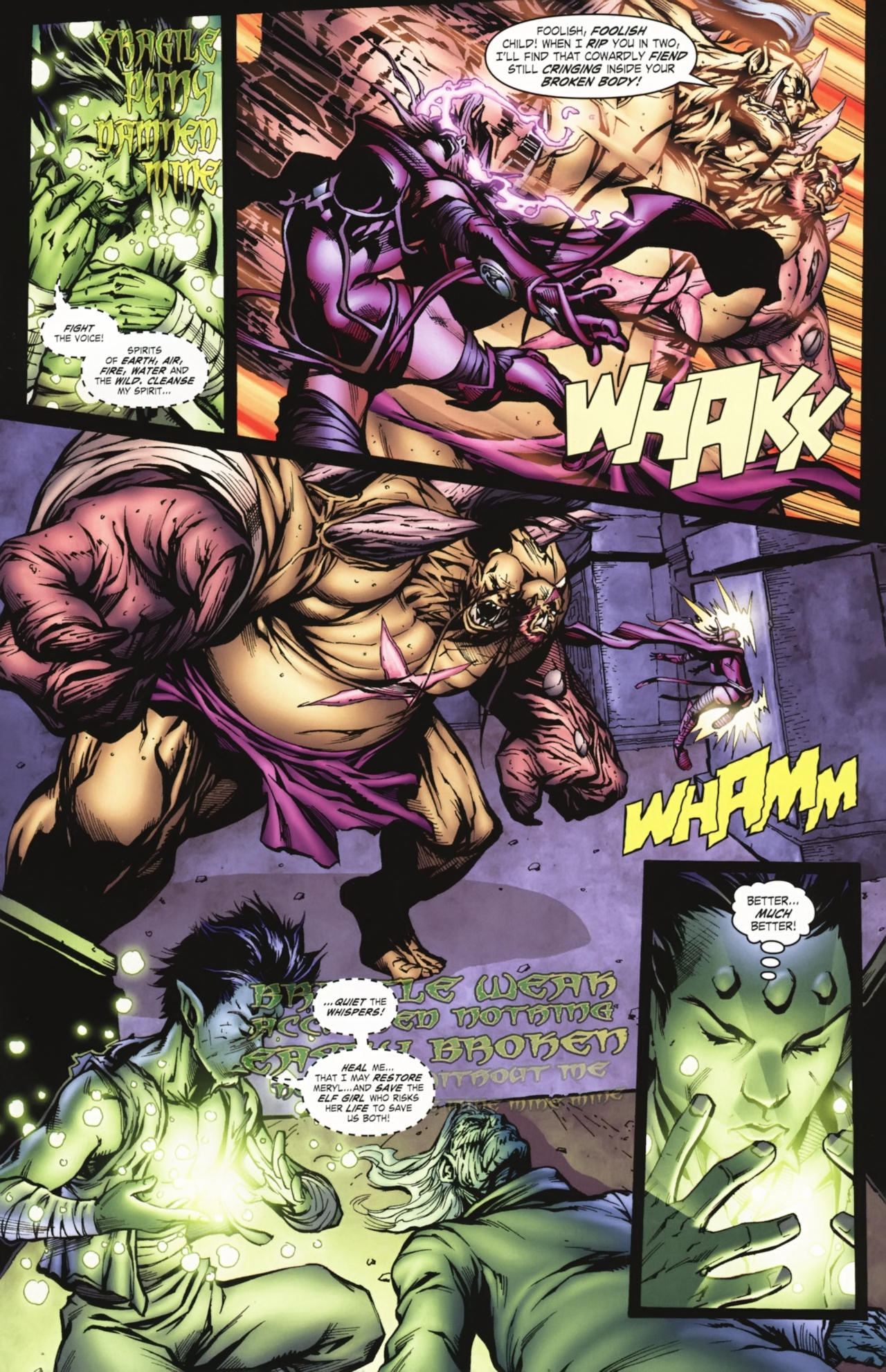Read online World of Warcraft comic -  Issue #20 - 12