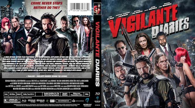 Vigilante Diaries Bluray Cover