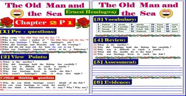 نموذج تحضير قصة اللغة الانجليزية للمرحلة الاعدادية ترم اول