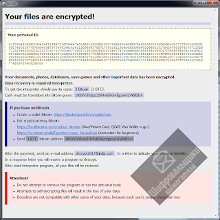 Globe3 Ransomware .decrypt2017 .hnumkhotep