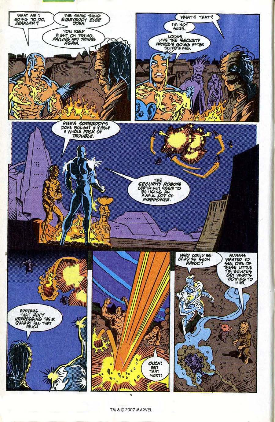 Read online Silver Surfer (1987) comic -  Issue #42 - 4
