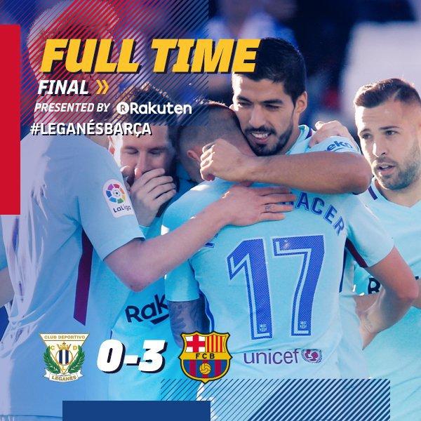 DOWNLOAD VIDEO: Leganes Vs Barcelona 0-3 – Highlights & Goals