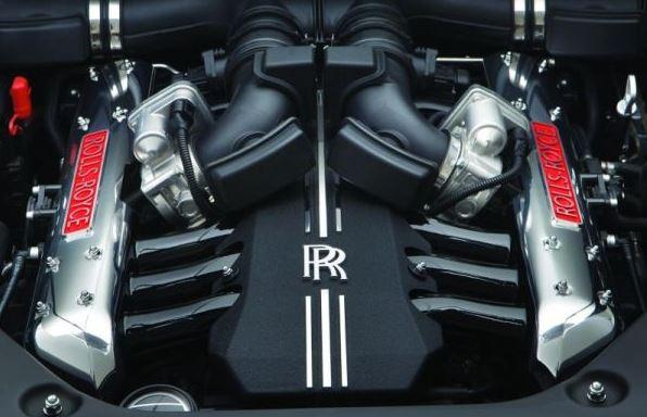 2017 Rolls-Royce Wraith Engine
