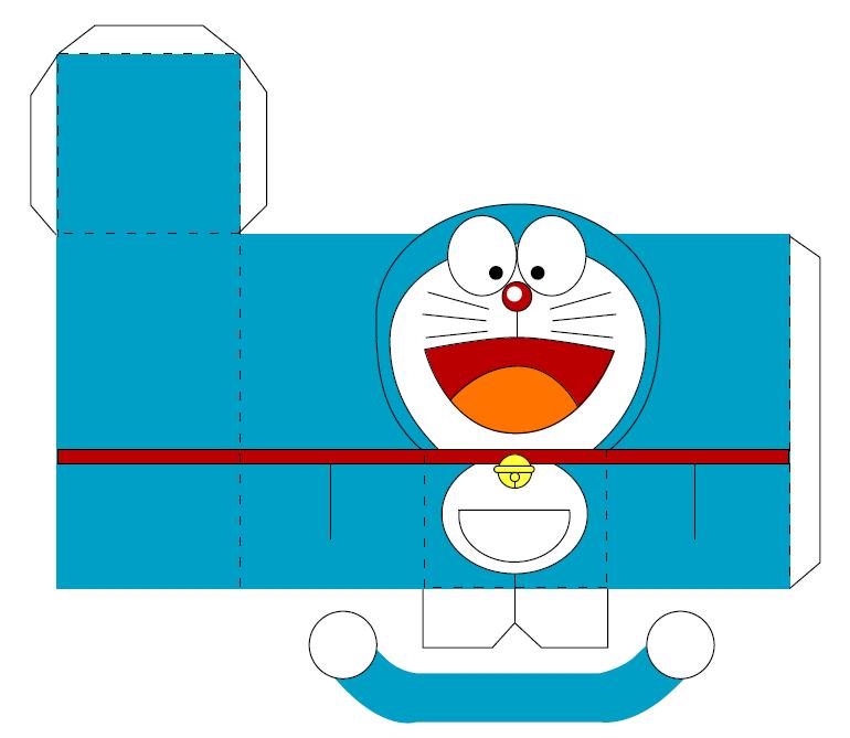 Dwie Blog's: Membuat Doraemon Dari Kertas