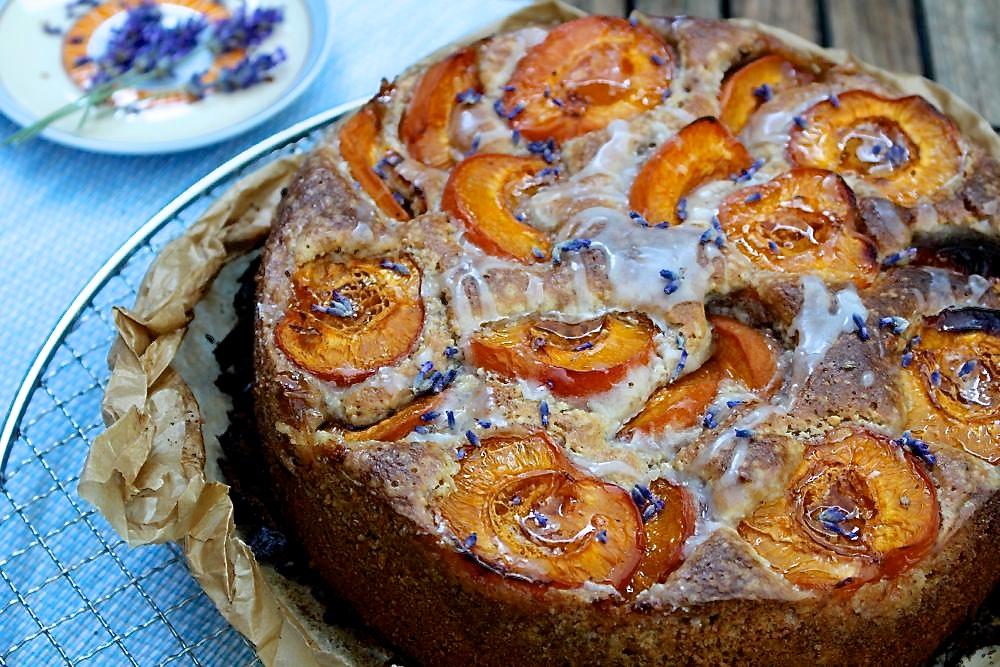 Aprikosen walnuss kuchen