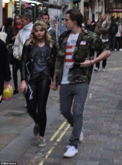 Brooklyn BeckhamYoung model and Chloe Grace Moretz appear to confirm relationship rumours