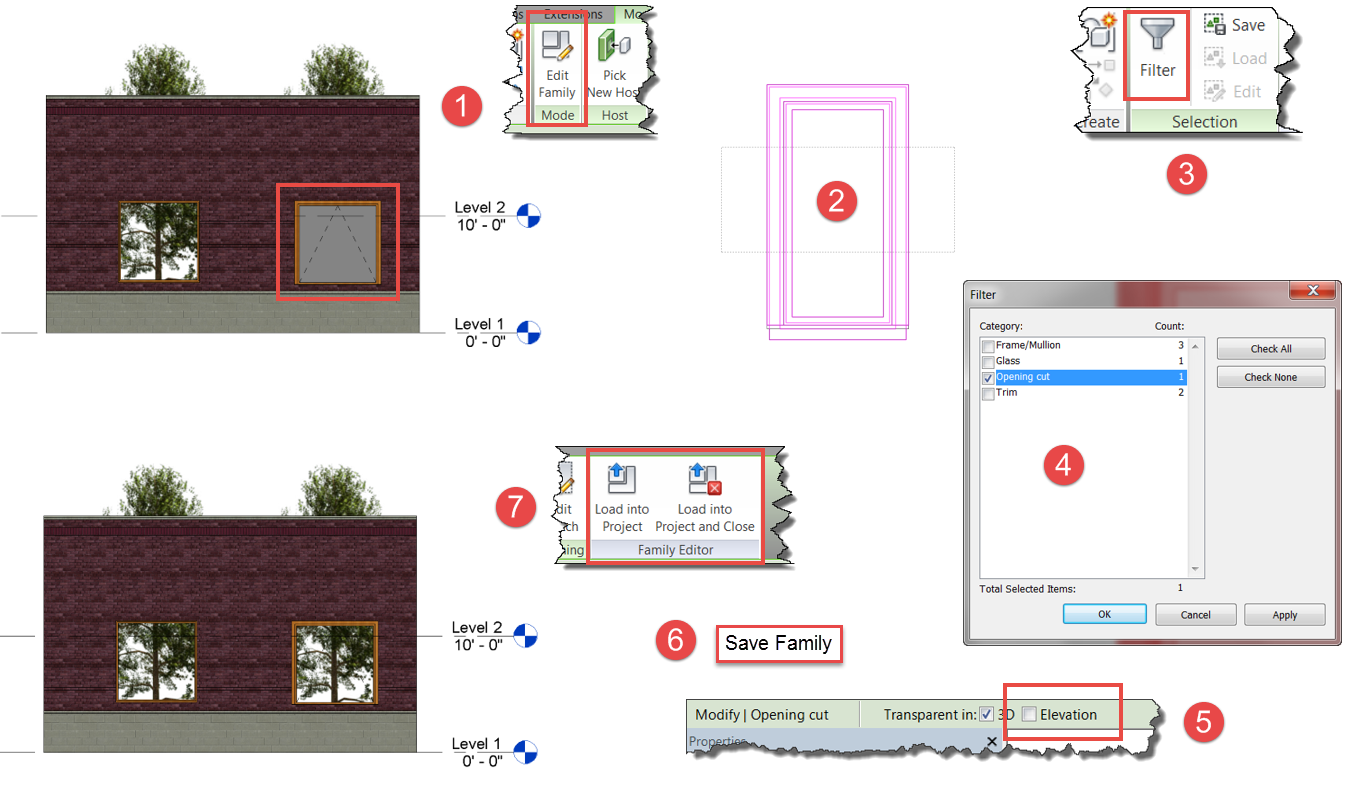 Ideate solutions did you know that revit windows can have for Window elevation