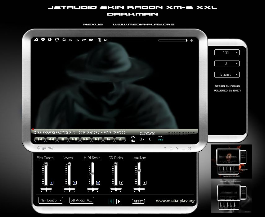 Download jetaudio 8. 1. 7 basic multimedia player/ripper/converter.