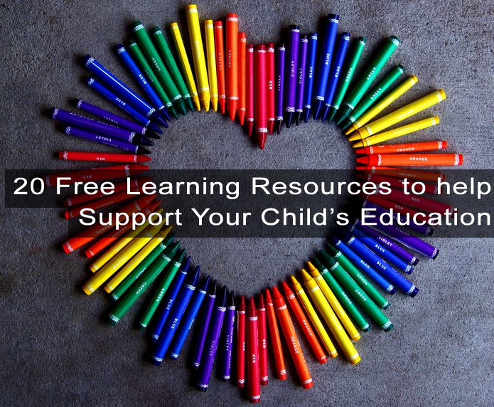 20 free education resources for school children