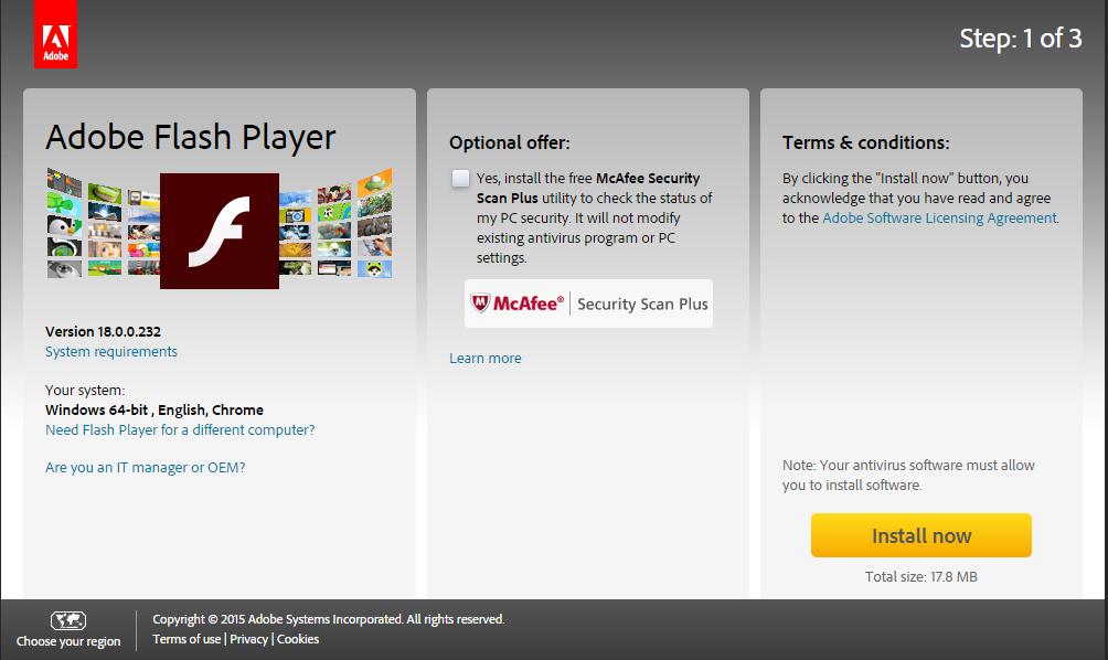download adobe flash player offline installer latest version