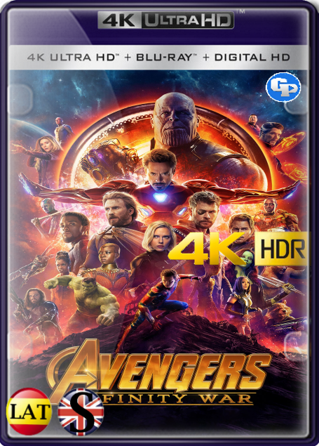 Los Vengadores: Infinity War (2018) 4K HDR LATINO/INGLES