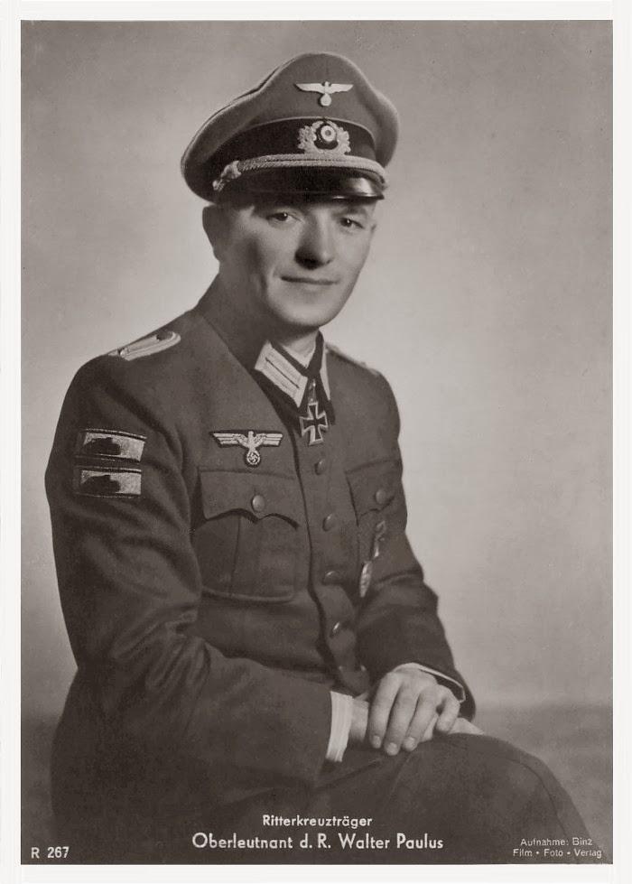 Walter Paulus Ritterkreuzträger Knight Cross Holder Postcard