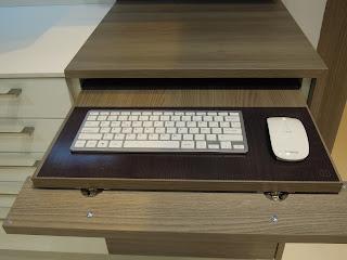 cajon teclado con frontal abatible