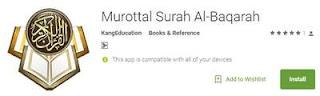 Aplikasi Murottal Surah Al Baqarah