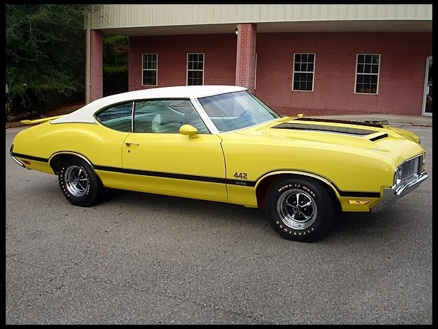 1970 Olds Cutlass 442 Special Order Paint Codes | phscollectorcarworld