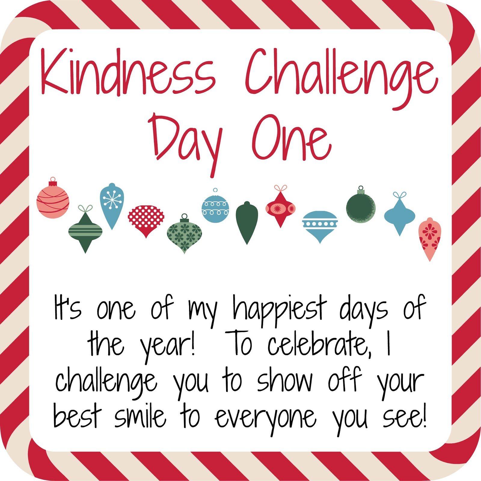 While I M Waiting An Elf Kindness Challenge Free Printables