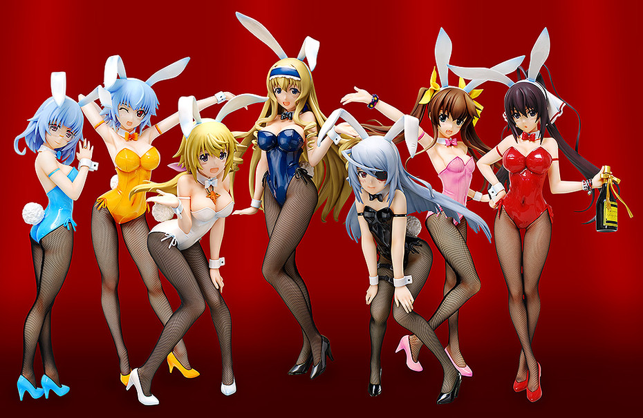 Bunny Girl Figure Full Set