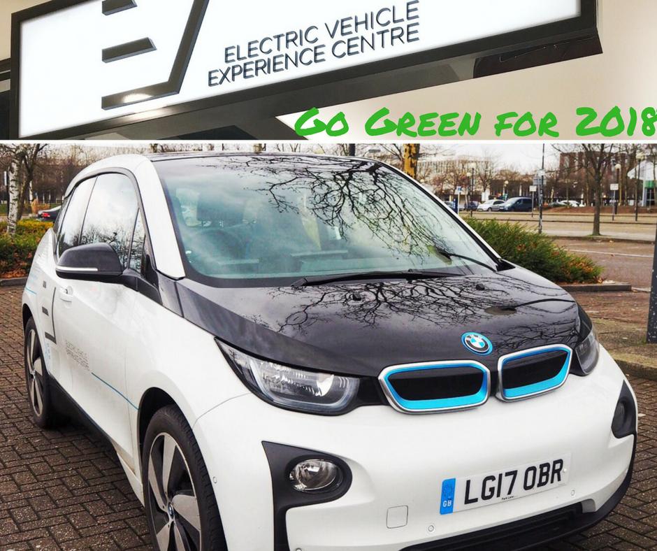 Electric car BMW i3