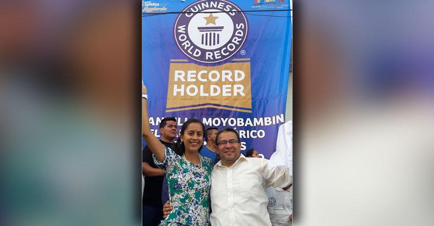 MOYOBAMBA: Ciudad de las Orquídeas consigue Récord Guinness con danza folclórica peruana más grande del mundo «La Pandilla»