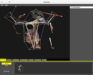 Animata open source real-time animation software on linux