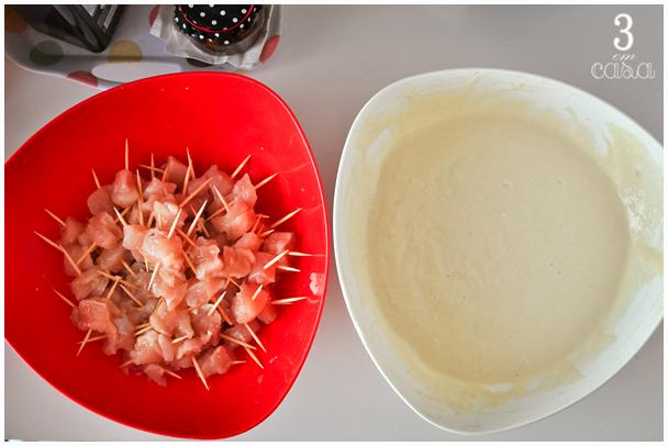 como fazer frango empanado