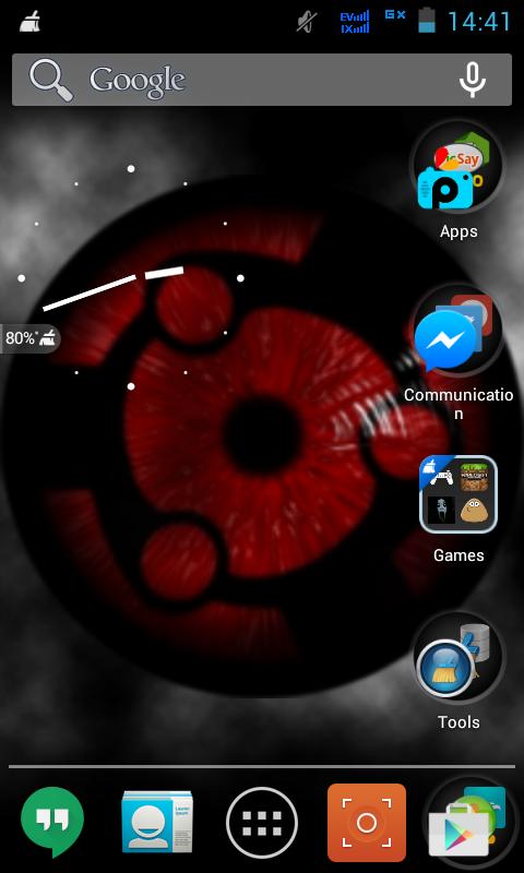 GIN-Ndroid: Sharingan Live Wallpaper Apk Download