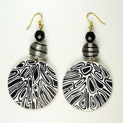 Paper Maché Earrings