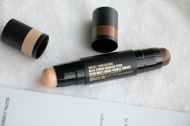 MAC quiktrik highlight bronzer stick review