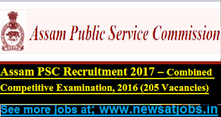 Assam-PSC-Combined-Competitive-Examination-jobs-2017