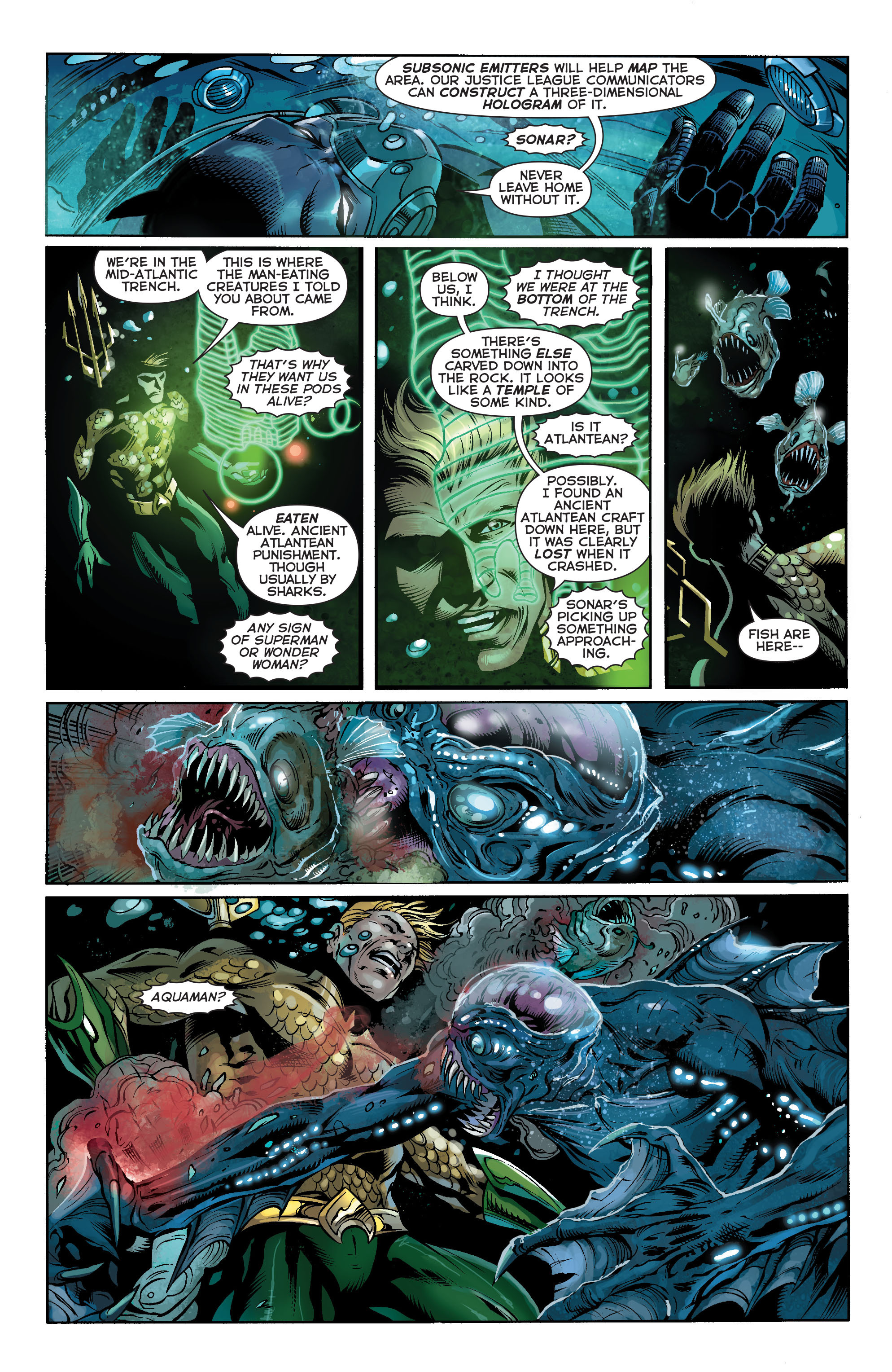 Read online Aquaman (2011) comic -  Issue #16 - 7
