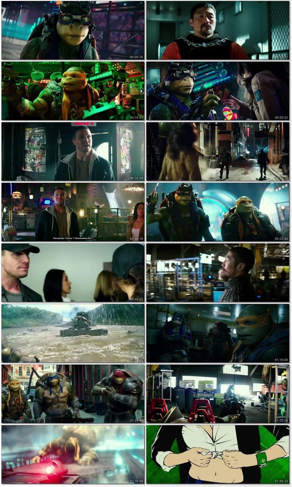 Teenage Mutant Ninja Turtles Out of the Shadows 2016 ORG Dual Audio 720p BluRay [Hindi – English] ESubs