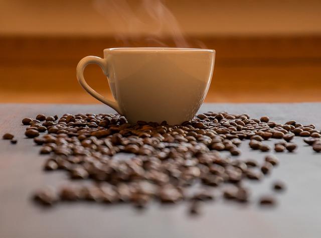 Cluster con aroma de café