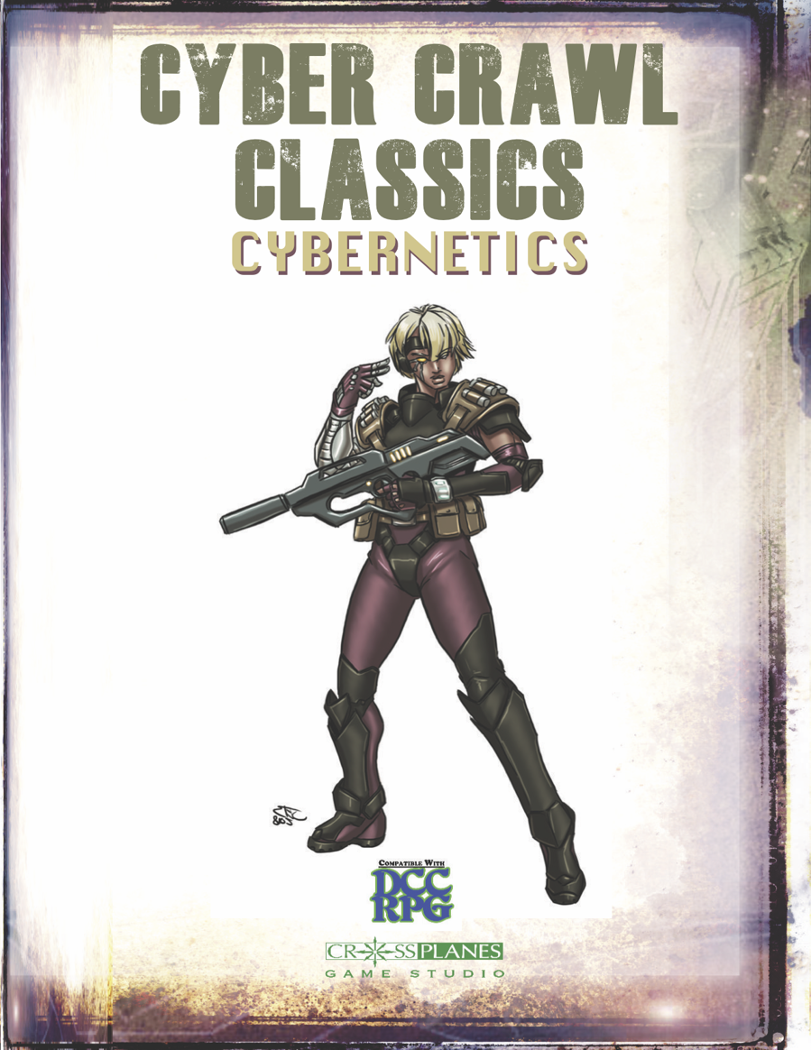 CROSS PLANES: Publishing Spotlight: Cyberpunk Fantasy Cybernetics